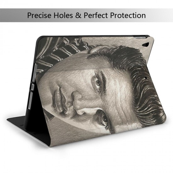 """Vault-Tec IPad 7th Generation 10.2 Inch Multi-Angle Viewing Folio Smart Stand Cover Auto Wake/Sleep for IPad 10.2"""" Tablet"""
