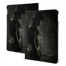 """Green Arrow Stephen Amell IPad 7th Generation 10.2 Inch Multi-Angle Viewing Folio Smart Stand Cover Auto Wake/Sleep for IPad 10.2"""" Tablet"""