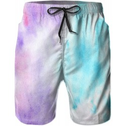 Mens Quick Dry Swim Trunks with Mesh Lining, Summer Surf Long Beach Pants Board Shorts Bathing Suits
